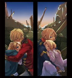 I love these kinds of pictures so much-Protecting...  Hetalia FACE - America / England / France / Canada