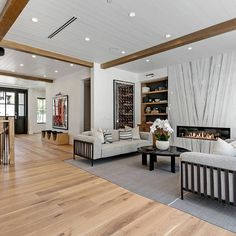 """Featured Properties on Instagram: """"FEATURED PROPERTY OF THE DAY! 6310 Mirror Lake Dr, Los Angeles Represented by @danielleperetz18 This designer estate features six en…"""" Mirror Lake, House Goals, Modern Interior, Divider, Architecture, Room, Furniture, Instagram, Design"""