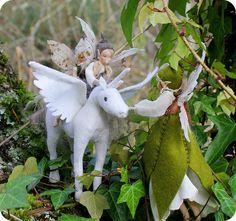 Gorgeous handmade fairies, dolls, knights & more.