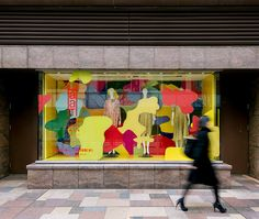 HaaT|WINDOW DISPLAY - MISAWA DESIGN INSTITUTE | 三澤デザイン研究室 | 三澤 遥