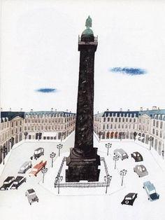 I dislike not knowing. Paris Illustration, Travel Illustration, Archi Images, Place Vendôme, Different Art Styles, Paris Map, Artist Sketchbook, Black And White Drawing, Art Graphique