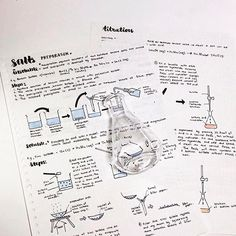 My fave topic in chemistry ヽ༼ ͠ಠل͜ ಠ ༽ノ T-minus idk how many days to mid-years . This acc turned 1 month old and I'm really enjoying the journey so far , I've been really motivated to study Everyday ☺✨and esp thanks to the ones I Chat with frequently HAH - - - - #studygram #sgstudygram #studies #studyinspo #studying #asethetic #stationary #education #pens #muji #studyblrsquad #studyinspiration #study #chemistry #apparatus #science #notes #notestagram #salts Gcse Chemistry Revision, Study Chemistry, Chemistry Notes, Chemistry Class, Science Notes, Visual Thinking, Study Techniques, Pretty Notes, Study Inspiration