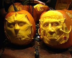 Awesome Pumpkin Carvings by Villafane | Smashcave