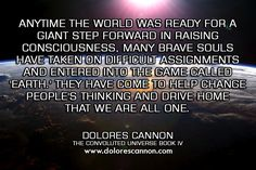 We are all one  Dolores Cannon - Google+