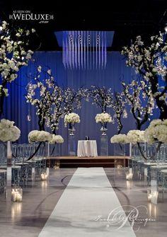 Photo: Studio 2000; wedding ceremony idea