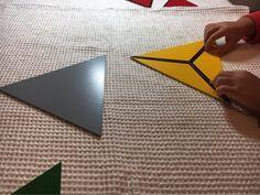 構成三角形と紐通し_4歳7ヶ月&1歳6ヶ月