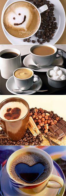 Как готовят кофе в разных странах мира / Простые рецепты