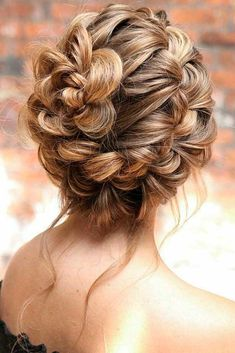 Braided Updo Hairstyle ★ Here are gorgeous prom and graduation hairstyles to make you look like a supermodel. And your graduation night will be such a memorable occasion. Hairstyles 36 Amazing Graduation Hairstyles For Your Special Day Braided Hairstyles Updo, Braided Updo, Wedding Hairstyles, Hairstyles Haircuts, Hairstyles Pictures, Medium Hair Styles, Natural Hair Styles, Short Hair Styles, Bun Styles