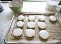 super easy glazed sugar cookies (for when i don't feel like going thru the hassle of royal icing)