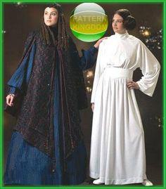 45fb2858a0 Princess Leia Padme Amidala Hat 6 t 12 Star Wars Costume Simplicity Pattern  4443
