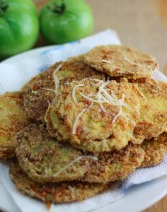Want an amazing Fried Green Tomatoes recipe? Look no further, from the pictures to the tomatoes this recipe will make you want more! Enjoy the amazing dish!