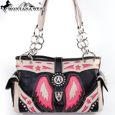 STF-8085 Montana West Texas Pride Collection Handbag