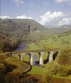 Ride from Bakewell to Wyedale on the Monsal Trail over the Monsal Head viaduct.