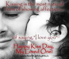 Kiss Day-Valentines week