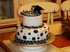 Ileen's Graduation Cake By Veetz on CakeCentral.com