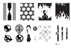 Buy directly from the world's most awesome indie brands. Or open a free online store. Hunger Games Nails, Nail Polish Sale, Image Plate, Nail Stamping Plates, Easy Nail Art, March, Fire, Top, Stickers