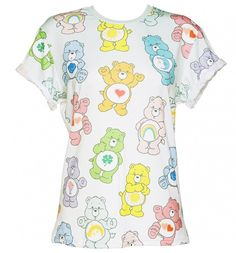 EXCLUSIVE Ladies #Vintage #CareBears Ombre T-Shirt from Mr Gugu & Miss Go xoxo