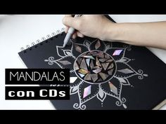 A reciclar los viejos CDs - Está Bueno Cd Crafts, Diy And Crafts, Paper Crafts, Mandala Making, Cd Art, Easy Youtube, General Crafts, Zentangle Patterns, Diy Canvas