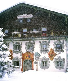 Beautiful Winter Scenes Around the World: Walchsee, Austria