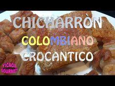 COMO PREPAPAR Chicharrón de Cerdo Crocante - YouTube