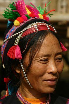 Ha Nhi woman,  Lai Châu, Vietnam