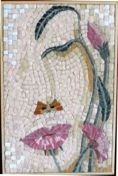 Flowers by Dana Teturova Clever answer to a brief entitled 'Camouflage' - Beautiful Daily Shares Mosaic Tile Art, Mosaic Artwork, Mosaic Diy, Mosaic Garden, Mosaic Crafts, Mosaic Projects, Mosaic Glass, Glass Art, Stained Glass