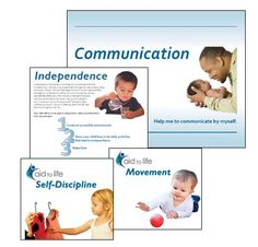 Aid to Life materials: Complete Set with books, DVDs and fliers on topics of independence, communication, movement and self-discipline from birth to age 3.  North American Montessori Teachers' Association: montessori-namta.org