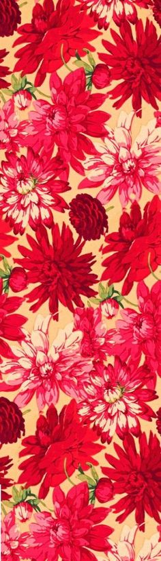Flowers red background print patterns 51 Ideas for 2019 #flowers
