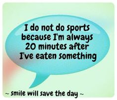 Smile will save the day: Funny diet and food quotes