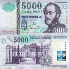 """Banknote Book Our rule is """"Different signature equal Different banknote""""! If you are looking for banknote with certain signature - ask us to be sure. Hungary, 8 Avril, Cat, Collections, History, Vintage, Coins, Money, Viajes"""