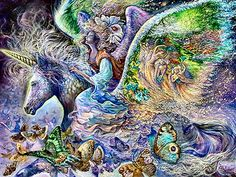 Winged Fantasy by Josephine Wall
