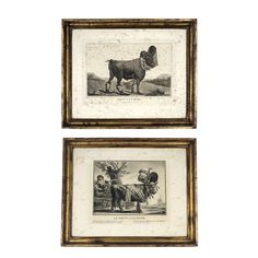 Pair of French Revolution Parody Etchings