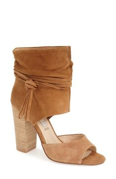 Newest addition to my shoe closet!!! Arrives today! Kristin Cavallari 'Leigh' Peep Toe Sandal (Women) available at #Nordstrom