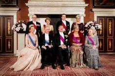 Nov. 28, 2016 - Nov 28, 2016 - King Philippe & Queen Mathilde Visit The Netherlands – Day 1 (Dinner)