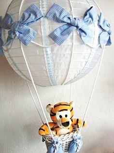 Dicas pra Mamãe: Lustre de Balão: Fofuras para a Decoração do quarto do seu bebê