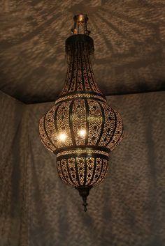 Moroccan Hand Punched Chandelier Lighting Indoor Los Angeles Al