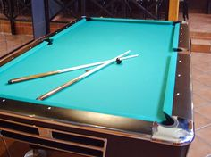 GAME and SPORTS - BILLIARD Der Billardtisch