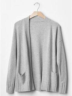 Cashmere open front cardigan | Gap