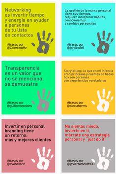6 citas sobre Marca personal #infografia #infographic #marketing