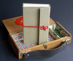 book in a box... by ortbindery, via Flickr