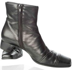 paul-green-leather-zip-ankle-black-boots-boot-shoe-black-shoes-shoe-black boot-german - Copy