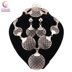 Fashion Gold Color Nigerian Wedding African Beads Jewelry Set Saudi Jewelry Sets Bracelet Earring Ring Jewelry Set 2 Colors. Yesterday's price: US $8.40 (6.95 EUR). Today's price: US $8.40 (6.95 EUR). Discount: 58%.