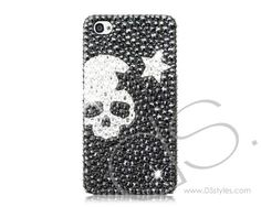 Skull Star Bling Swarovski Crystal Phone Case   #swarovski  http://www.dsstyles.com/ds.-crystal-swarovski/bling-iphone-cases-skull-star-bling-swarovski-crystal-phone-case.html?Src=pinterest