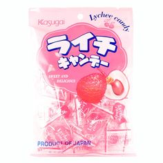 Sweet and delicious hard candy bursting with lychee flavor. Texture: Hard Flavor: Lychee Similar to: Undecided Packaging: 21 pieces individually wrapped Product of Japan Net Weight: Cate Cute Candy, Best Candy, Japanese Candy, Japanese Sweets, Japanese Food, Hard Candy, Candy Packaging, Cute Snacks, Gastronomia