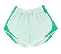 These seersucker mint running shorts might just motivate me to actually run in them. SO CUTE!