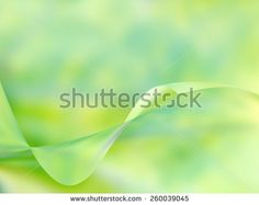 Fresh green blurred background with wavy form  - stock photo