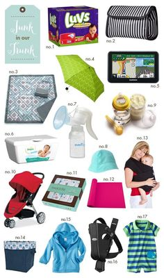 Staying Spontaneous. What  to keep in the trunk for baby.