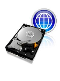 Western Digital Caviar Blue hard drive.