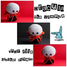 Check out this item in my Etsy shop https://www.etsy.com/listing/246705783/count-dracula-the-vampire-amigurumi amigurumi crochet pattern Dracula vampire diy handmade toy Halloween