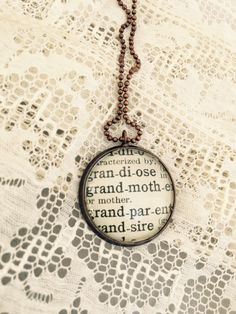 A personal favorite from my Etsy shop https://www.etsy.com/listing/246538788/grandmother-necklace-grandma-vintage
